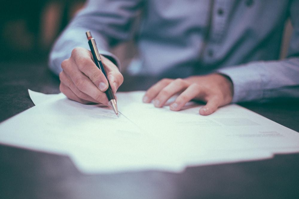 Unterzeichnung des Zeichnungsscheins ohne vorherige Lektüre